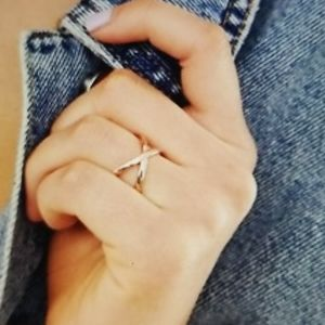 Gorjana Elea Rose Gold Plated Ring